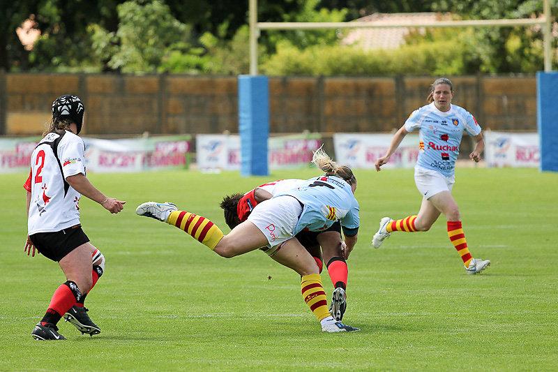 Finale du championnat de France de rugby féminin