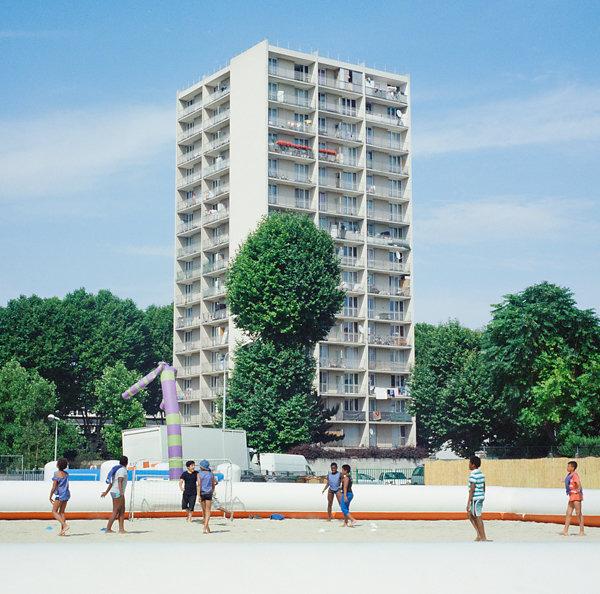 FRA - LA COURNEUVE - URBAN BEACH